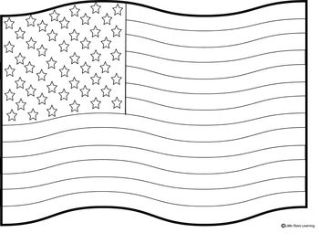 3 Coloring Sheets Two United States Flag Coloring Pages One With Color Words And A Flag Blank Flag Coloring Pages Memorial Day Coloring Pages Coloring Pages