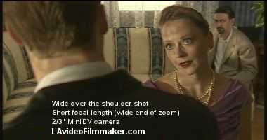 How To Frame Over The Shoulder Shots A Detailed Guide With Pretty Pictures Film Tips Filmmaking Cinematography Filmmaking