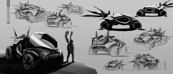 Husser Dakar Rally Concept 6 With Images Dakar Concept Cars Concept