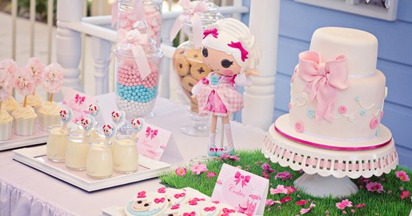 Lalaloopsy Party Baptism Party Ideas | Photo 4 of 17 | Catch