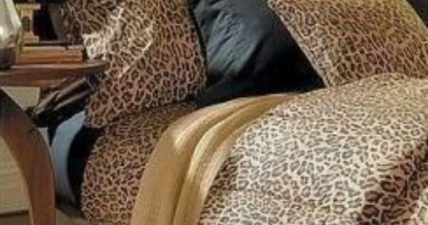 Ralph Lauren Aragon Leopard King Comforter 4pc Set