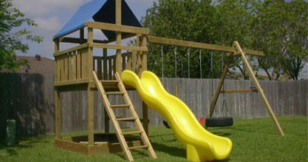 Jacks backyard wood forts and swing set plans wood for Build it yourself swing set