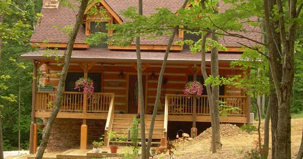 Stone mountain model appalachian log timber homes standard model traditional style - Appalachian container cabin ...