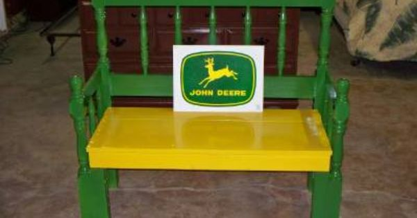 John Deere Bench 1 My Projects Pinterest Bench Room