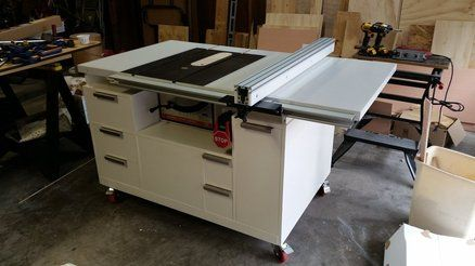 Craftsman 113 Table Saw Upgrade Cabinet Table Saw Station Craftsman Table Saw Table Saw