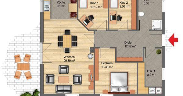 bungalow 2 900 690 pixel architektur. Black Bedroom Furniture Sets. Home Design Ideas