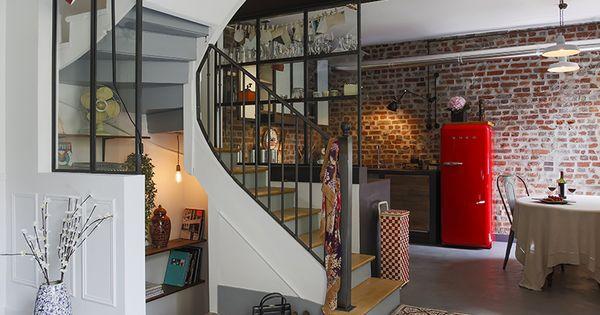 Verri res indus et meuble de cuisine en acier conception for Atelier du meuble