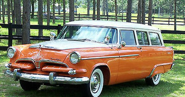 1955 Dodge 2 Door Station Wagon Station Wagon Classic Cars Wagon Cars
