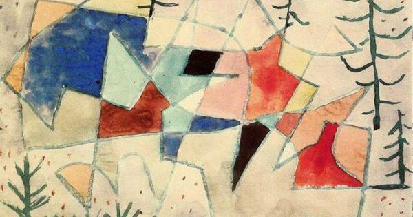 Paul klee thematic essay