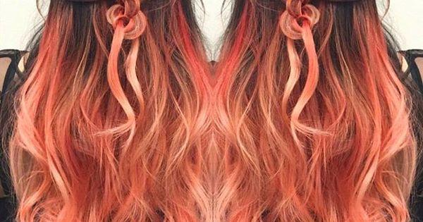 peach hair google search hair pinterest my hair