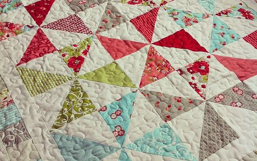 favorite quilt pattern-pinwheels camille roskelley Projects and tutorials Pinterest Charm ...