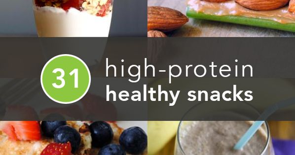 31 Healthy and Portable High Protein Healthy Snacks