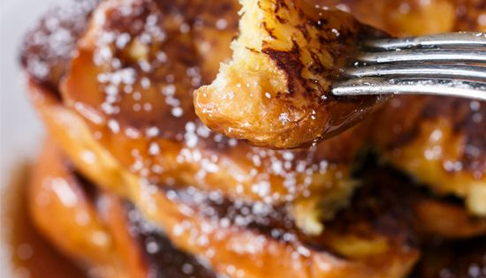 Boozy Salted Caramel French Toast | Recipe | The secret ...