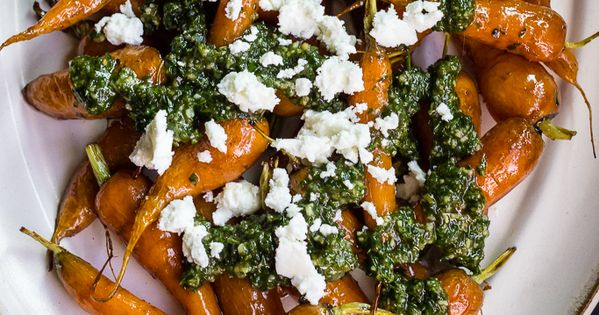 Roasted carrots, Pesto and Carrots on Pinterest