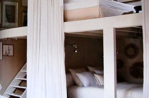 grown up bunk beds.. these are awesome! They'd be great for a