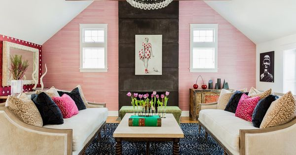 Hgtv fresh faces of design crazy for color colorful for Crazy living room ideas