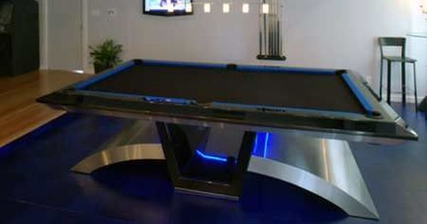COMPLEX OBJECT: Pool Table   Futuristic Look, Very Cool, Might Not Fit Theme