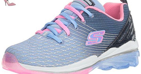 Skechers Girls Skech Air Deluxe Breathable Athletic Mesh