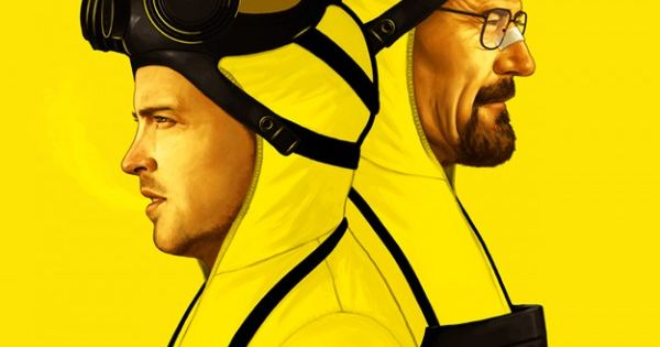 The Cooks by Mike Mitchell - Breaking Bad Art Project