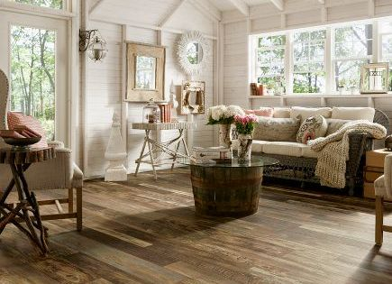 Distressed Laminate Flooring For Dog Mudroom Armstrong