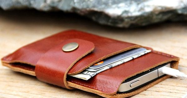 Wallet phone holder