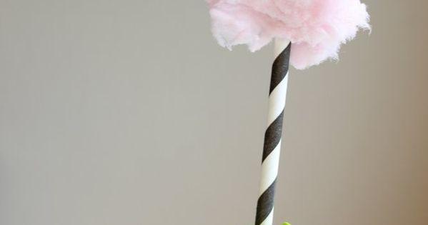 Truffula Tree Toppers... Dr Seuss' Birthday idea!