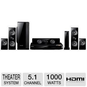 Samsung 51 Channel 1000 Watts Wireless Surround Sound 3d Bluray Home Theater System Cli Dvd Home Theater System Wireless Surround Sound Home Theater System