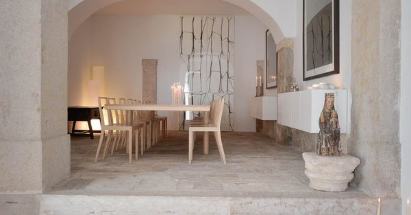 Oracle Fox Sunday Sanctuary Industrial Interior Concrete Wood Minimal Dining Room The Dining