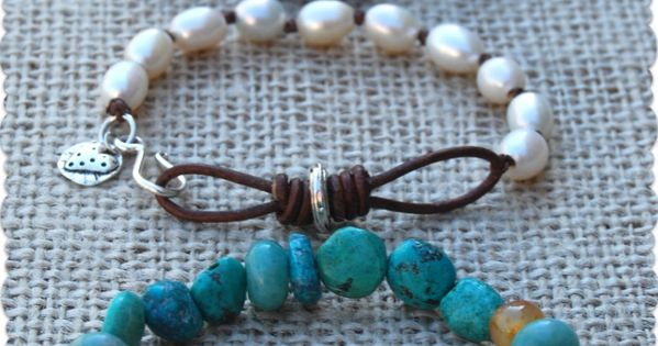 Free tutorials - leather infinity link bracelet