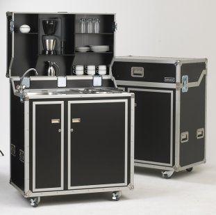 Kitcase In Standard Ausfuhrung Mobile Kuche Schrank Kuche Kuche Loft