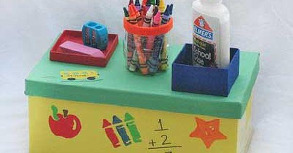 fotos e ideas para decorar y reciclar cajas de cartn
