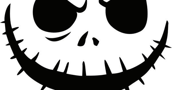 Jack Nightmare Before Christmas Pumpkin Template | jack ...
