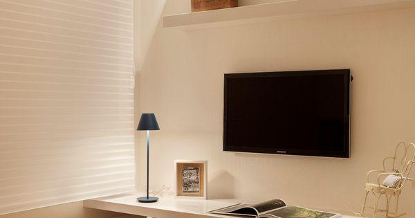 Apartamento Ipanema / Eloy & Travaglini bedroom homeoffice quartodeestudos