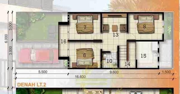 Desain Foyer Minimalis : Desain rumah minimalis luas tanah m lantai dan