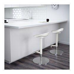 Janinge Tabouret De Bar Blanc 76 Cm En 2020 Tabouret De Bar Ikea Tabourets De Bar Modernes Et Tabouret