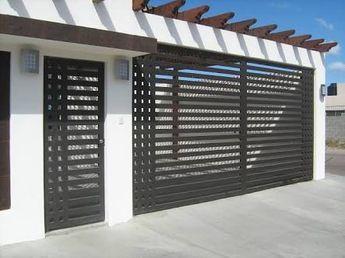 Portones Metalicos Disenos Modernos Buscar Con Google Rejas Para Casas Fachadas De Casas Modernas Rejas Modernas