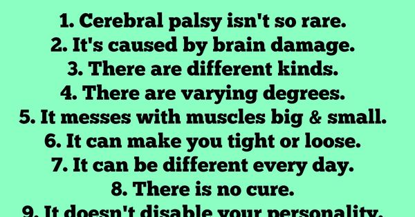 Where Have a Been?! I'm sorry I have posted about Cerebral Palsy