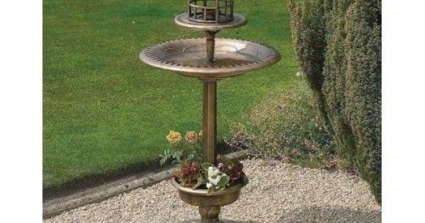 Bird Feeding Station Squirrel Feeder Bath Garden Tray