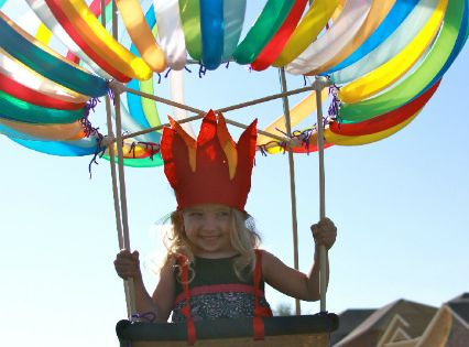 Wowzers. Hot Air Balloon - Homemade costumes for kids