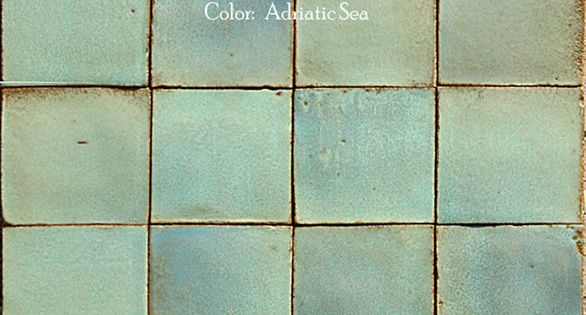 Villa Raffinato Italian Terra Cotta Wall Tile - kitchen backsplash candidate -