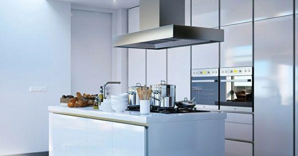 107 ides de lot central de cuisine fonctionnel et convivial cuisine - Cuisine Avec Ilot Central Plaque De Cuisson
