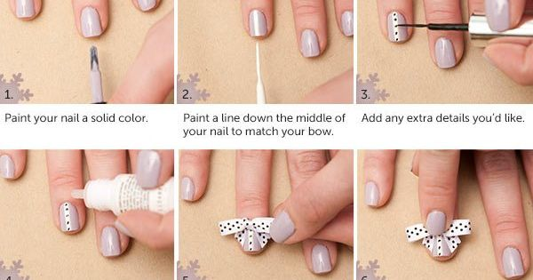 Gift Box | 15 Holiday Manicures That Are Actually Easy Functie nail