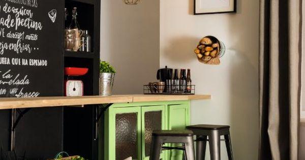 Crea una pizarra en la pared de tu cocina idea sue a - Crea tu cocina online ...