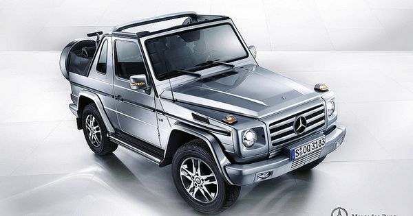 Mercedes benz g500 cabrio w463 mercedes benz g500 and for Mercedes benz boxy suv