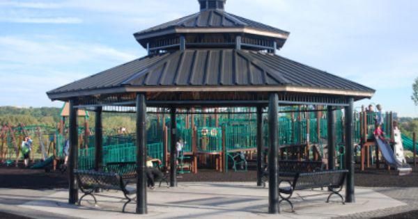 Poligon Clerestory Hip Roof Picnic Shelters Shade Structures Shade Structure Hip Roof Outdoor