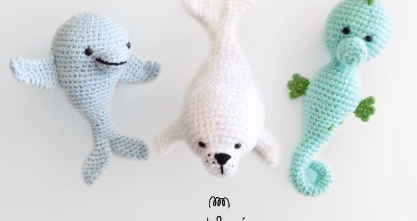 My sea amigurumi pattern by Madelenon Amigurumi and Patterns