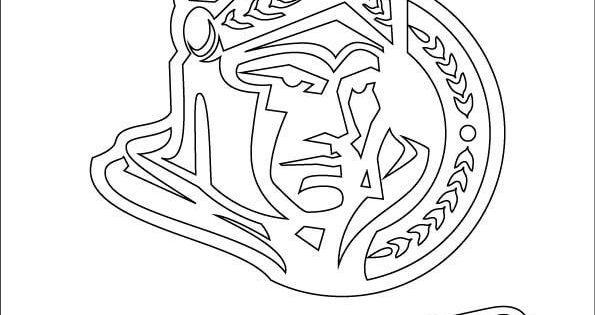 ottawa senators coloring pages - photo#5