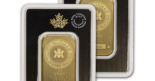 Details About 1 Oz Gold Bar Royal Canadian Mint Rcm 9999 Fine In Assay Two 2 Bars Gold Bars For Sale Gold Bar Gold