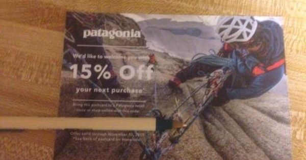 Patagonia Promo Code Discounts Coupons A Patagonia Promotional Code Provides You Closer To The Excellent Outside Having Coding Discount Coupons Promo Codes