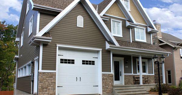 Portes de garage garex mod le new hampshire couleur - Couleur porte de garage ...